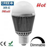 E27 Dimmable LED Bulbs 5Watt